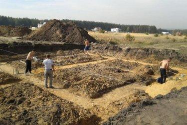 Подготовка площадки под фундамент дома