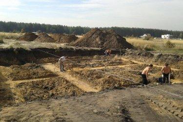 Подготовка площадки под фундамент дома. Разметка